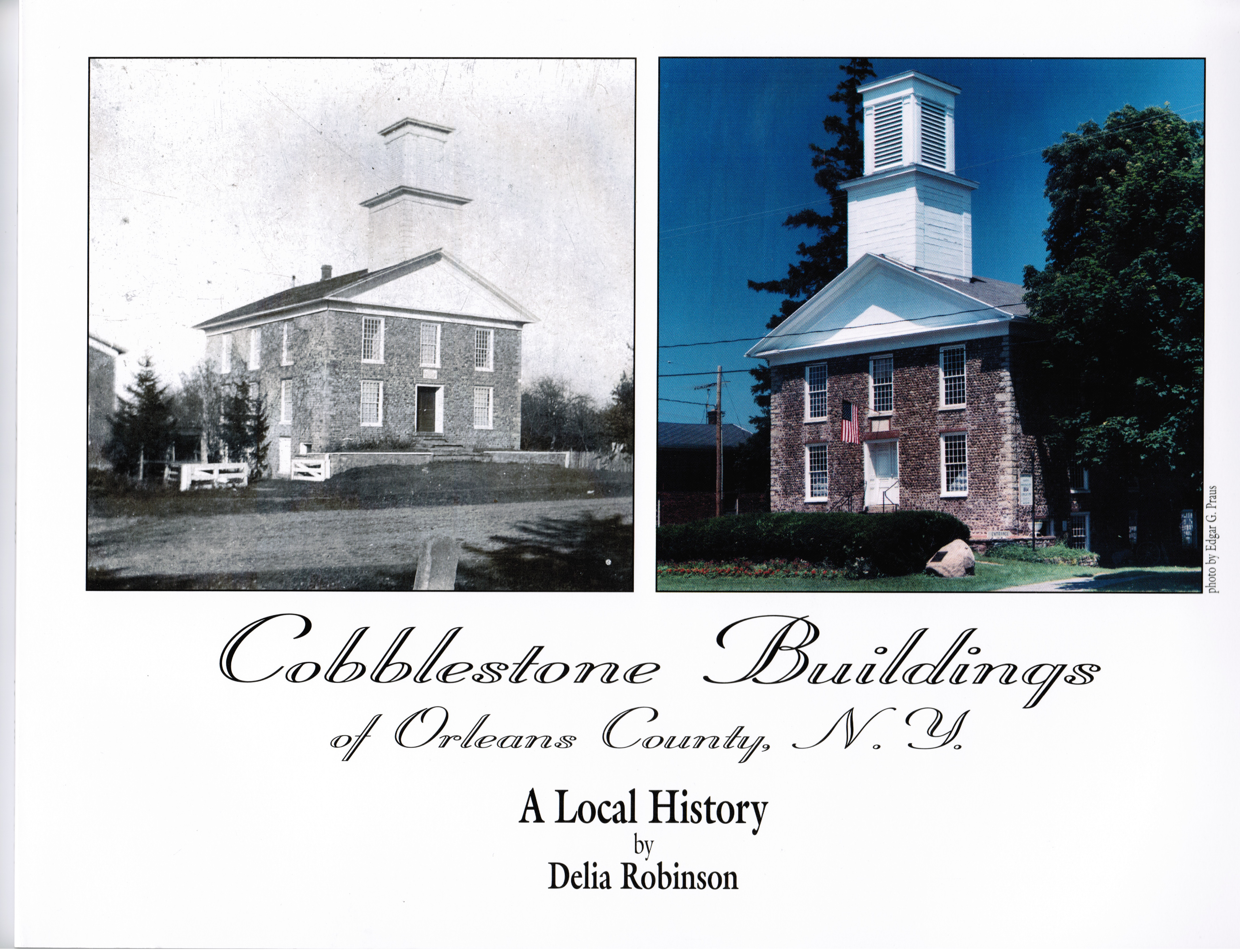 Coloring book real estate - Cobblestone Buildings Of Orleans County N Y
