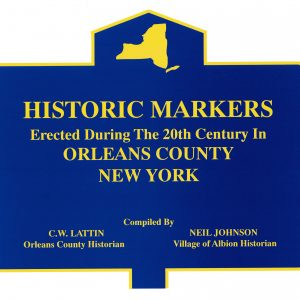 historic markers of orleans county